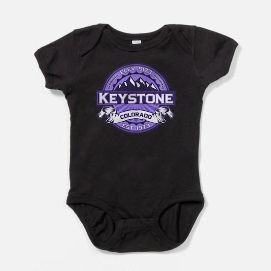 Keystone Purple Infant Bodysuit Body Suit
