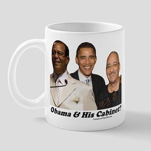 """""""Obama's Cabinet?"""" Mug"""