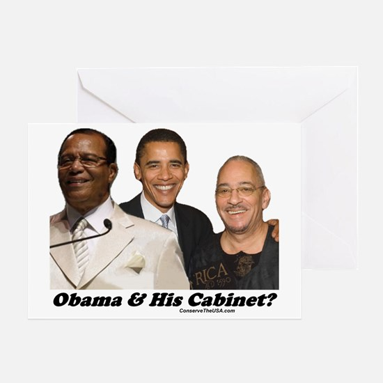 """""""Obama's Cabinet?"""" Greeting Card"""