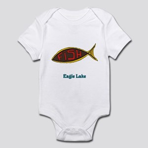 Fish in Fish Infant Bodysuit