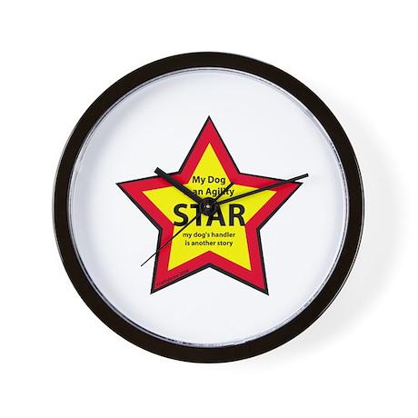 Agility Star Wall Clock