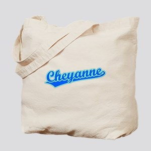Retro Cheyanne (Blue) Tote Bag