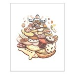Cookie Art Small Poster