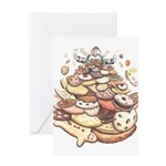 Cookie Art Greeting Card Cookie Lover Cards