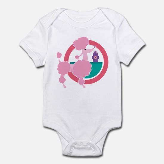 Pink Poodle Infant Bodysuit