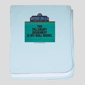 The Pillsbury Doughboy is my Roll Mod baby blanket