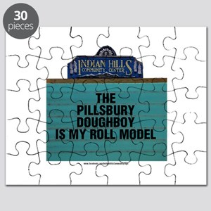 The Pillsbury Doughboy is my Roll Model Puzzle