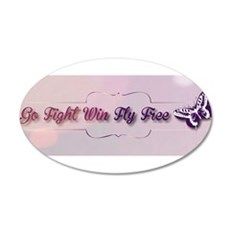 Go Fight Win Fly Free Wall Decal