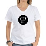 Meridies Populace Women's V-Neck T-Shirt