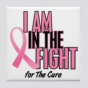 I AM IN THE FIGHT (The Cure) Tile Coaster