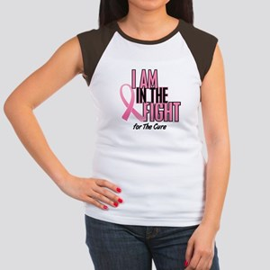 I AM IN THE FIGHT (The Cure) Women's Cap Sleeve T-