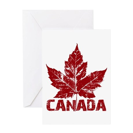 Cool Canada Greeting Card