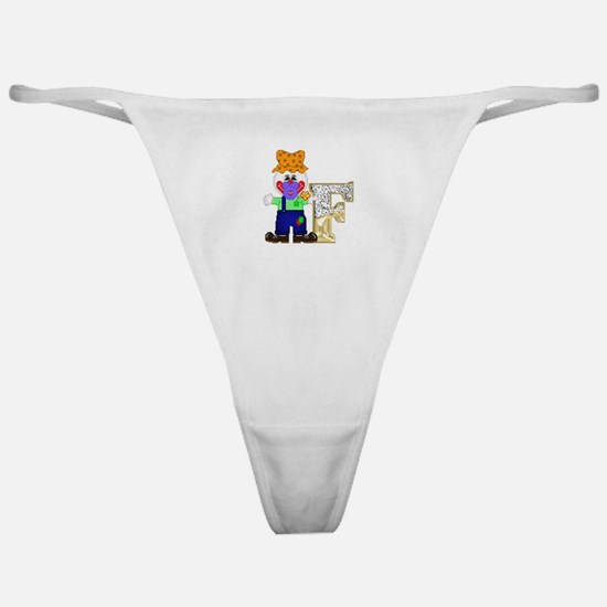 Baby Initials - F Classic Thong