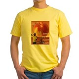 James and the giant peach Mens Classic Yellow T-Shirts