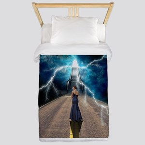 Staircase to Destiny Twin Duvet Cover