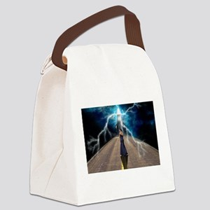 Staircase to Destiny Canvas Lunch Bag