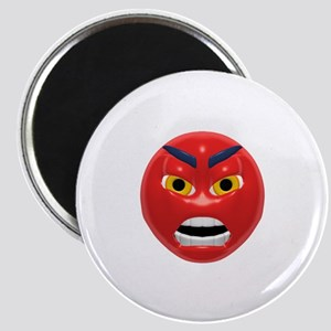 Very Angry Face Magnet