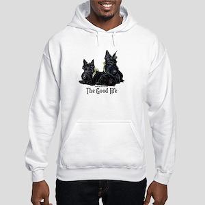 Scottish Terrier Good Life Do Hooded Sweatshirt