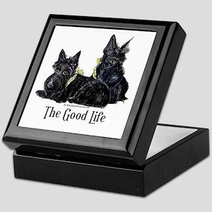 Scottish Terrier Good Life Do Keepsake Box