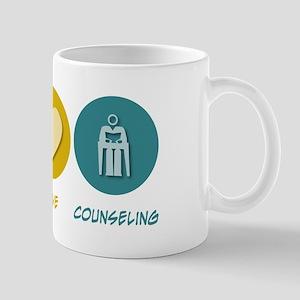 Peace Love Counseling Mug