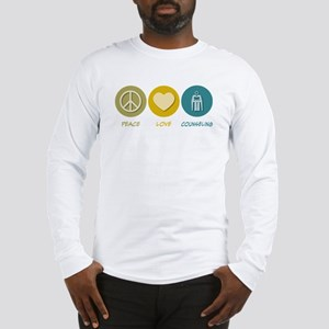 Peace Love Counseling Long Sleeve T-Shirt