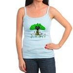 Love Is Green Jr. Spaghetti Tank