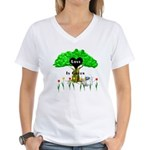 Love Is Green Women's V-Neck T-Shirt