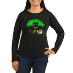 Love Is Green Women's Long Sleeve Dark T-Shirt