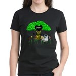 Love Is Green Women's Dark T-Shirt