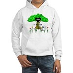Love Is Green Hooded Sweatshirt