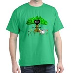 Love Is Green Dark T-Shirt