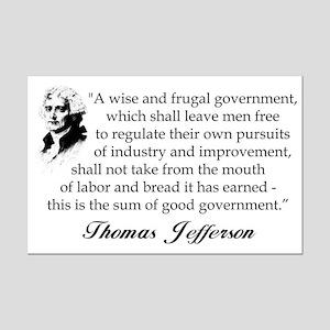 """""""Thomas Jefferson"""" Poster"""
