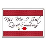 Kiss Me - Quit Smoking (lips) Banner