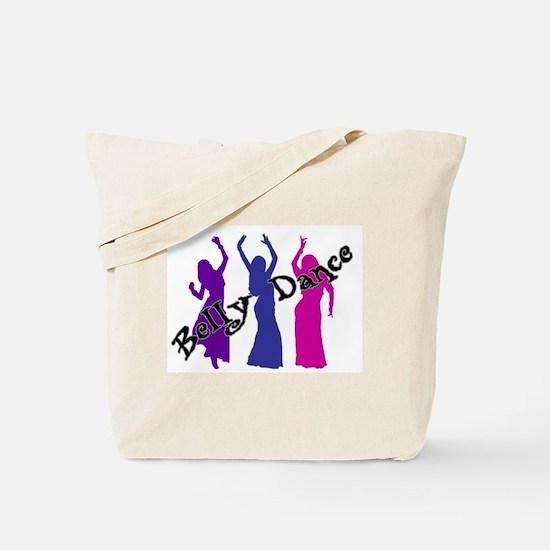 Belly Dance Trio Tote Bag