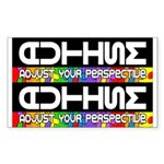 Adjust Your Perspective Sticker (2 for 1) 10 pk
