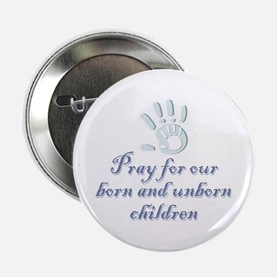 """Pray children (hand) 2.25"""" Button (10 pack)"""