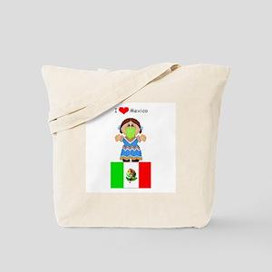 I Love Mexico Tote Bag