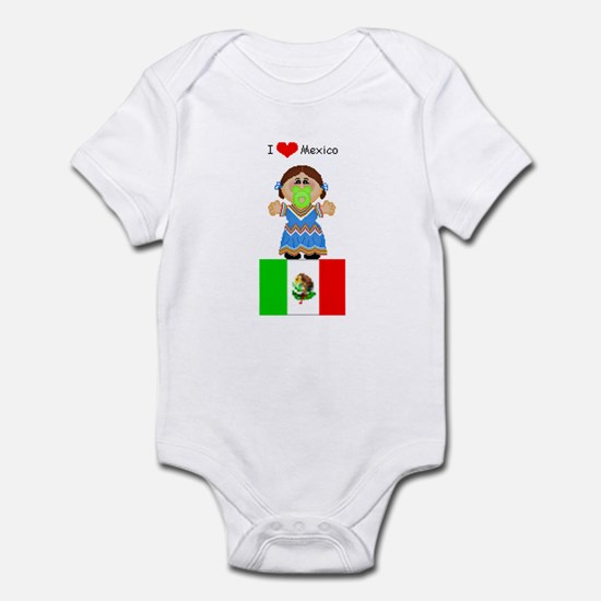I Love Mexico Infant Creeper