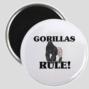 Gorillas Rule! Magnet