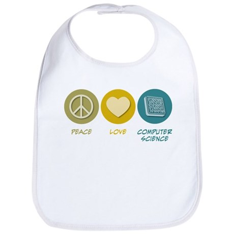 Peace Love Computer Science Bib