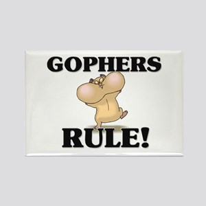 Gophers Rule! Rectangle Magnet