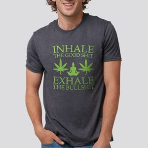 Yoga: Inhale the good shit T-Shirt