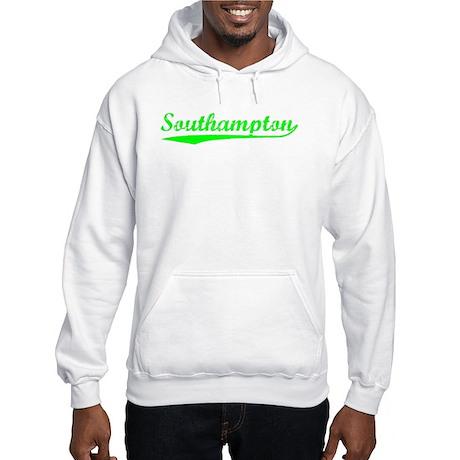 Vintage Southampton (Green) Hooded Sweatshirt