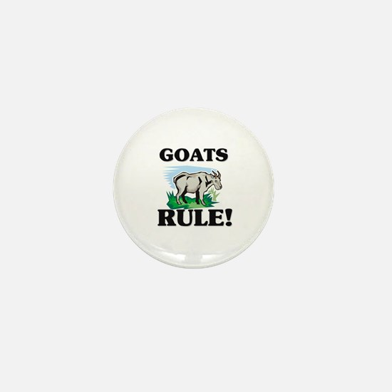 Goats Rule! Mini Button