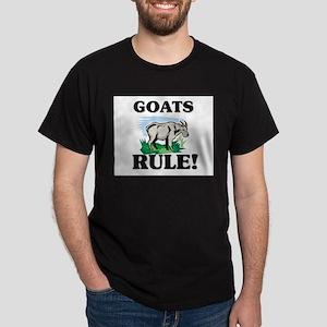 Goats Rule! Dark T-Shirt
