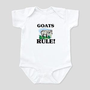 Goats Rule! Infant Bodysuit