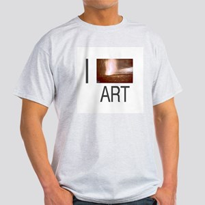 I Love Art-De Maria Light T-Shirt