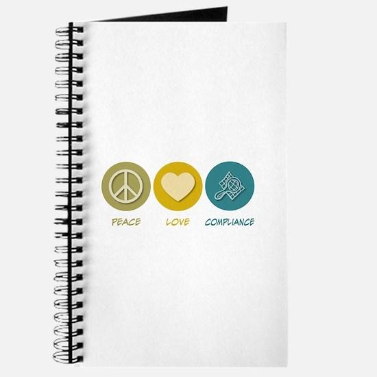 Peace Love Compliance Journal