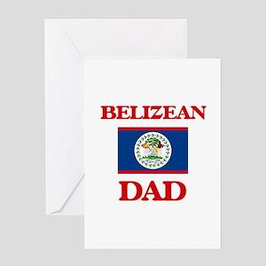 Belizean Dad Greeting Cards