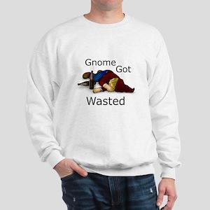 Gnome Got Wasted Sweatshirt